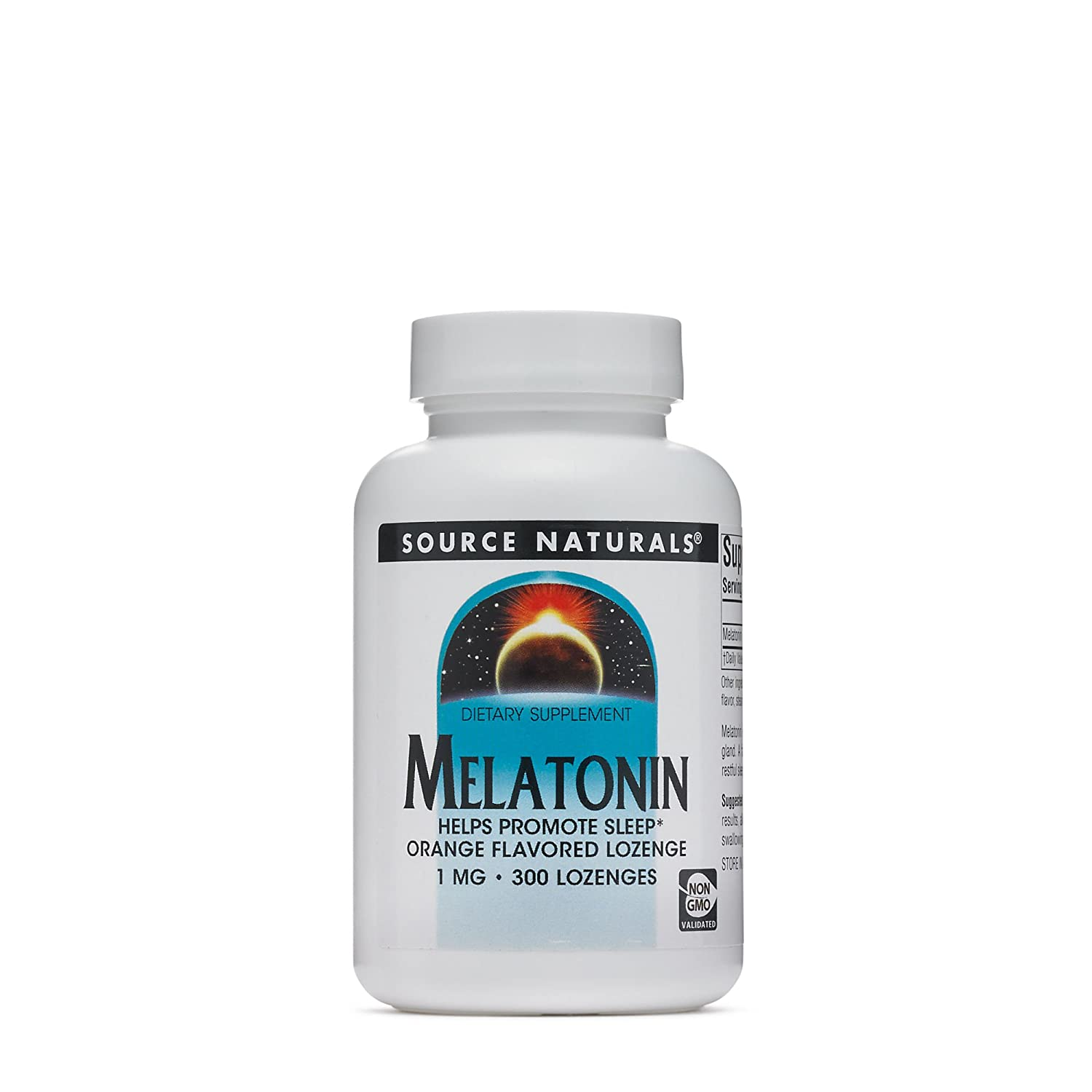 Amazon.com: Source Naturals Melatonina 1 mg, color naranja ...