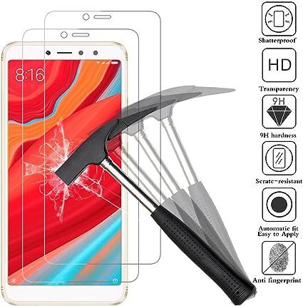 ANEWSIR [2-Pack Protector de Pantalla para Xiaomi Redmi S2 / Redmi ...