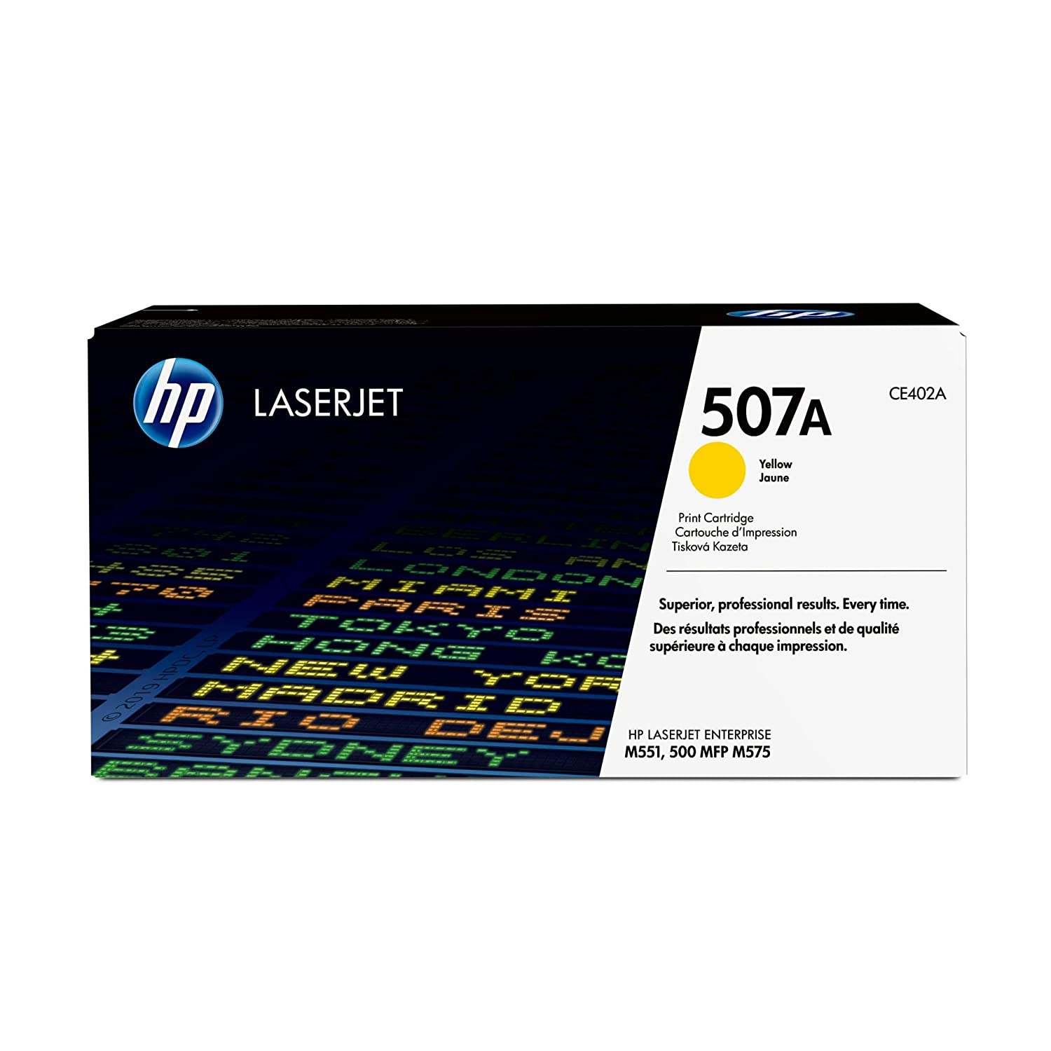 HP 507A | CE402A | Toner Cartridge | Yellow