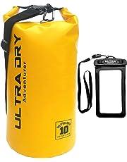 Ultra Dry Adventurer Premium wasserdichte Tasche, Sack mit Handy-Trockentasche und langem, verstellbarem Schultergurt, ideal für Kajakfahren/Bootfahren/Kanufahren/Angeln/Rafting/Schwimmen/Camping