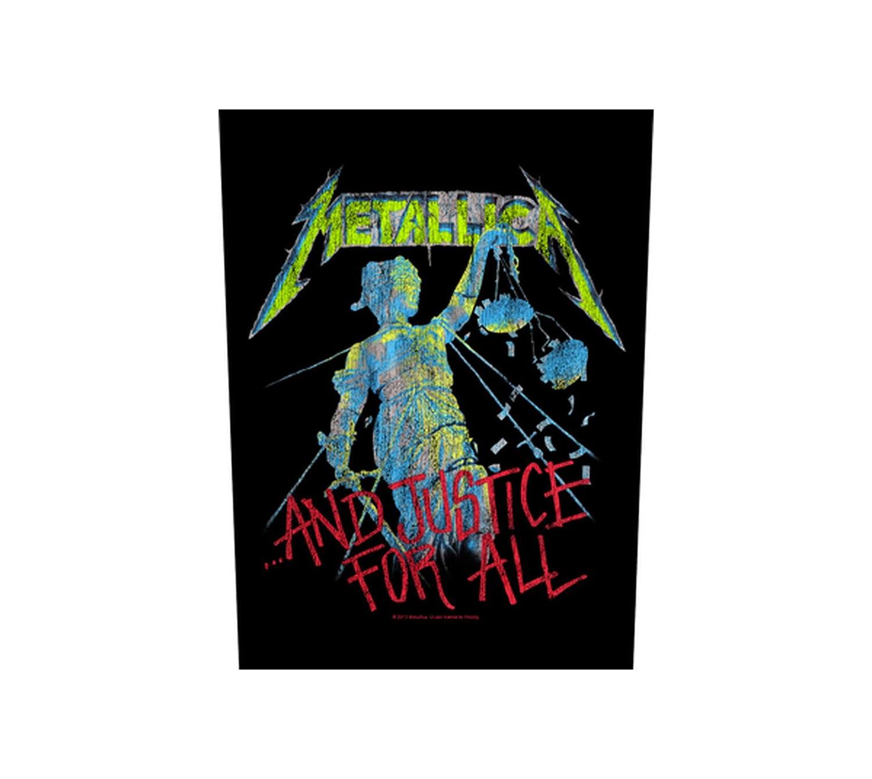 Kill Em All Metallica Backpatch Unbekannt Metallica R/ückenaufn/äher
