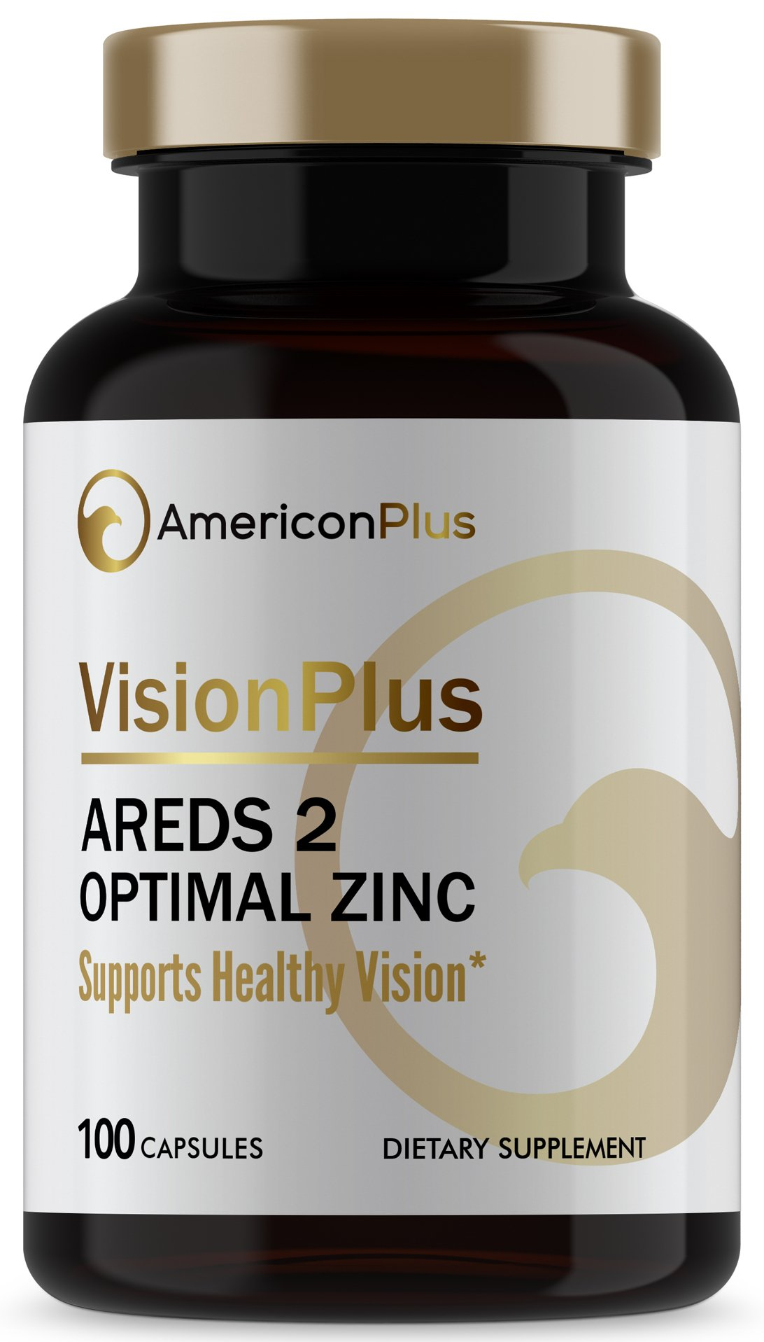 AREDS 2 Eye Vitamins for Macular Health with Maximum Safe Zinc; Based on AREDS and AREDS 2 Clinical Studies; AREDS2 Vitamins Improved for Smokers Over AREDS Vitamins; 100 Capsules