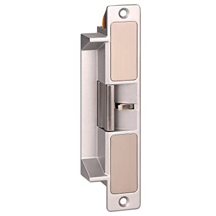 ZOTER Electric Strike, Door Lock European Type Heavy Duty NC