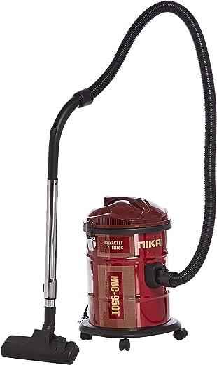 Nikai Dry Drum Type Vacuum Cleaner 1600 Watts, Red [NVC950]