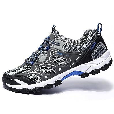 Camel Men Women Hiking Shoes Lightweight Breathable Non Slip Sneaker for  Outdoor Trail Running Trekking b2993fa68