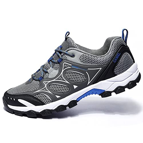 8d0fc6c3739 CAMEL Men/Women Hiking Shoes Lightweight Non-Slip Mesh Boots Trail Running  Sneaker