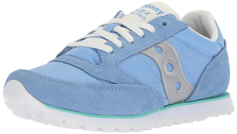bluee Green Silver Saucony Originals Women's Jazz Lowpro Sneakers
