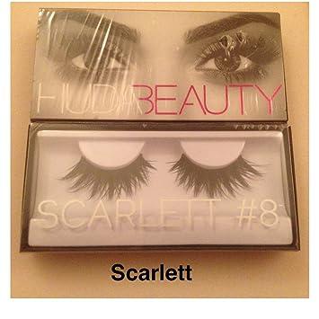 de5051583df Huda Beauty Classic False Eyelashes Scarlett 8: Amazon.co.uk: Beauty