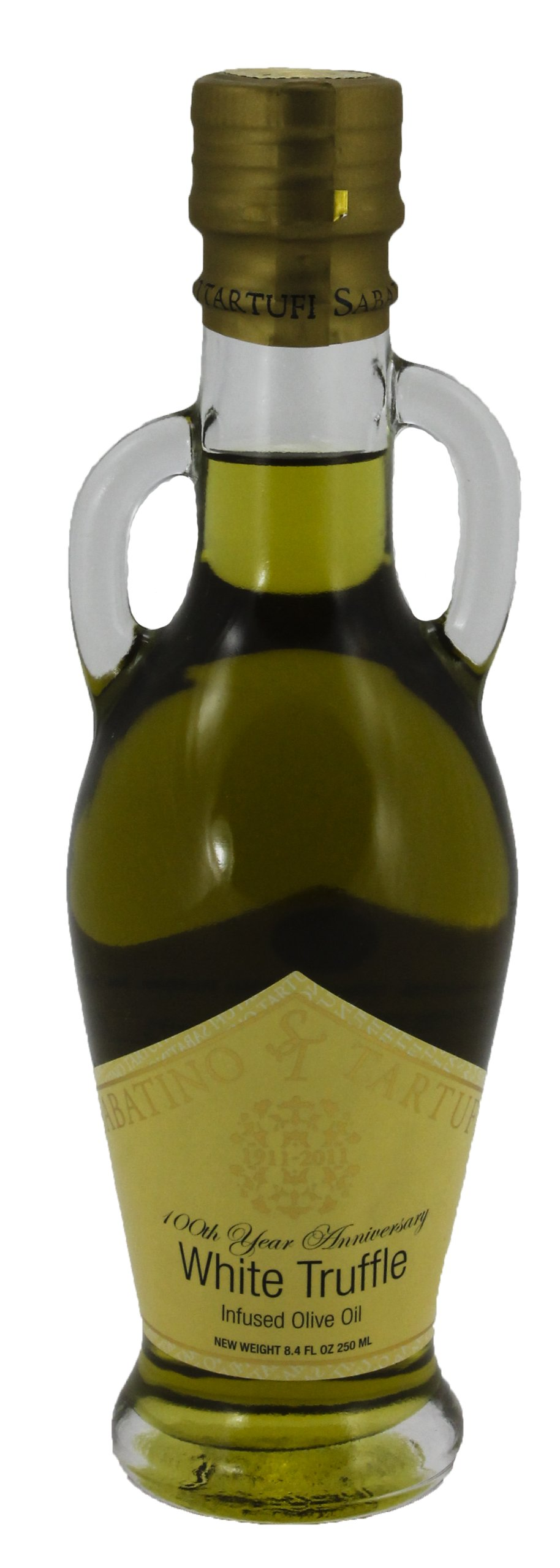 White Truffle Infused Olive Oil by Sabatino Tartufi (8.45 fluid ounce)