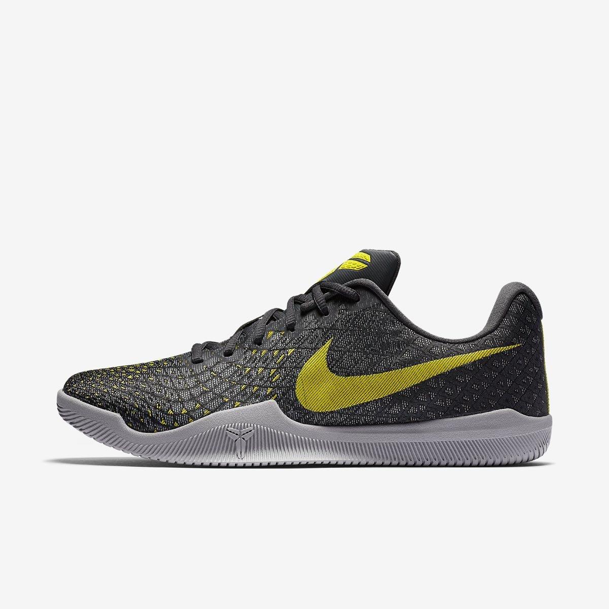 Nike Kobe Mamba Instinct Zapatillas de baloncesto para hombre, gris / amarillo: Amazon.es: Deportes y aire libre