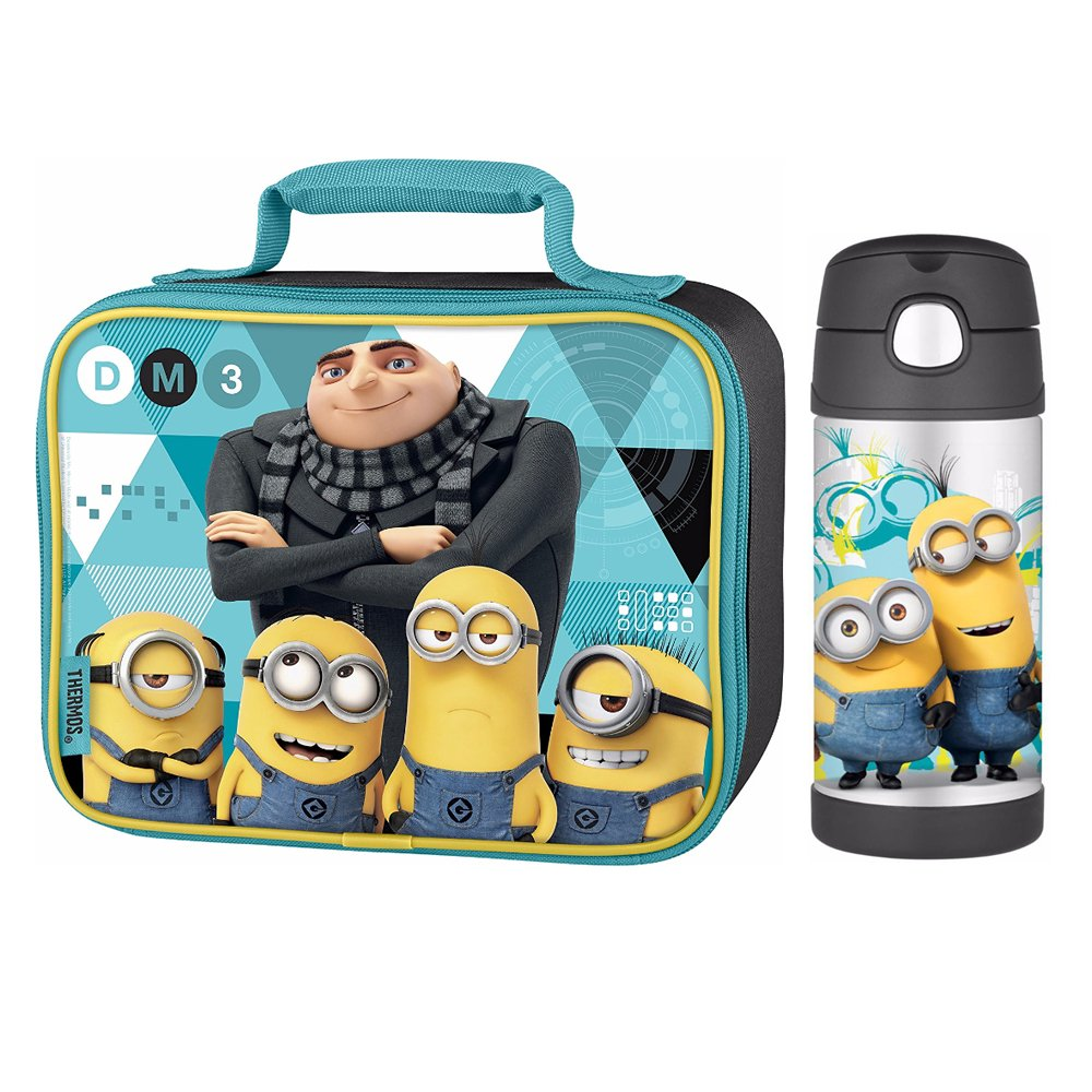 Thermos-Trinkflasche Trinkflasche Despicable Me Lunch 3 Lunch Me Kit 21ef43