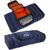 Pro Packing Cubes Travel Toiletry Bag - Packs Flat To Save Space - Waterproof Hanging Toiletries Kit For Men and Women - Mari