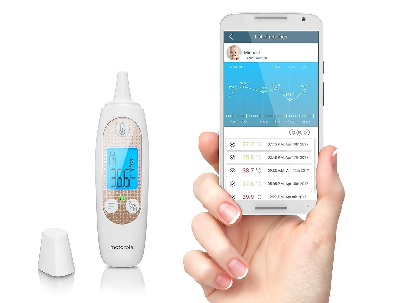 Motorola Mbp69sn Smart In Ear Digital Thermometer Amazon Baby