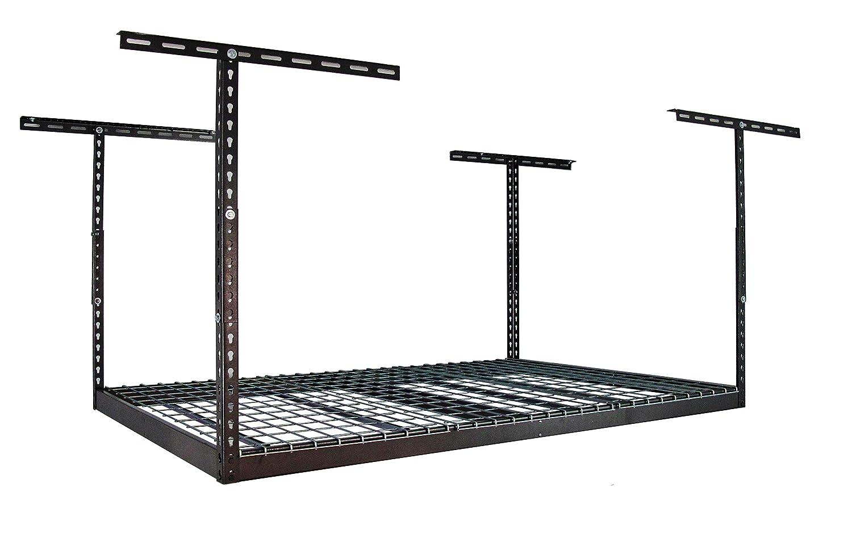 MonsterRax - 4x6 Overhead Garage Storage Rack – Hammertone (24
