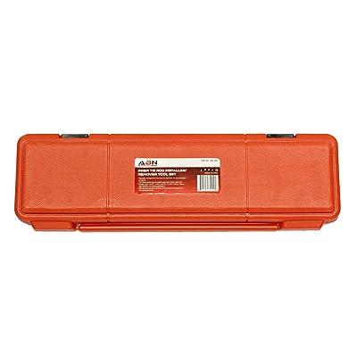 ABN Inner Tie Rod Tool Kit – 8 Pc Inner Tie Rod Removal Tool Set Tie Rod Adjusting Tool and SAE and Metric Crowfeet: Automotive