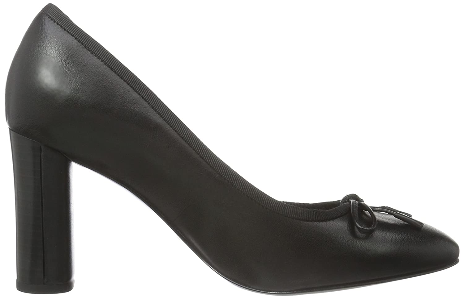 Clarks Idamarie Faye, Escarpins Femme, (Black Leather), 40 EU