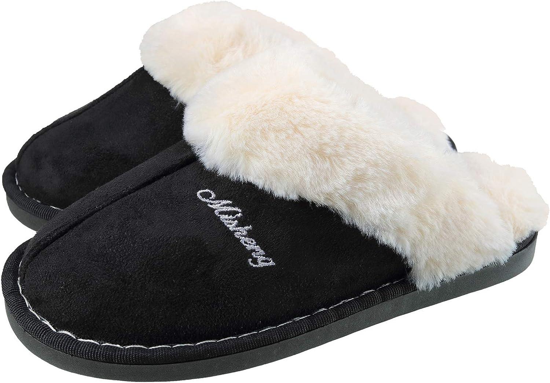 ChayChax Women's Slippers Warm Fluffy