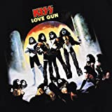 KISS Love Gun Gene Simmons Rock Band T Shirt