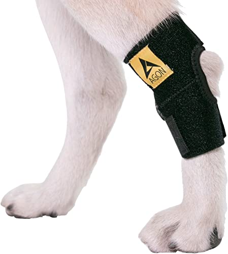 AGON-Dog-Canine-Rear-Hock-Joint-Brace-Compression
