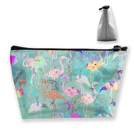 Colorido Flamingo Monedero Cambiar Bolsa Estuche Lápices ...