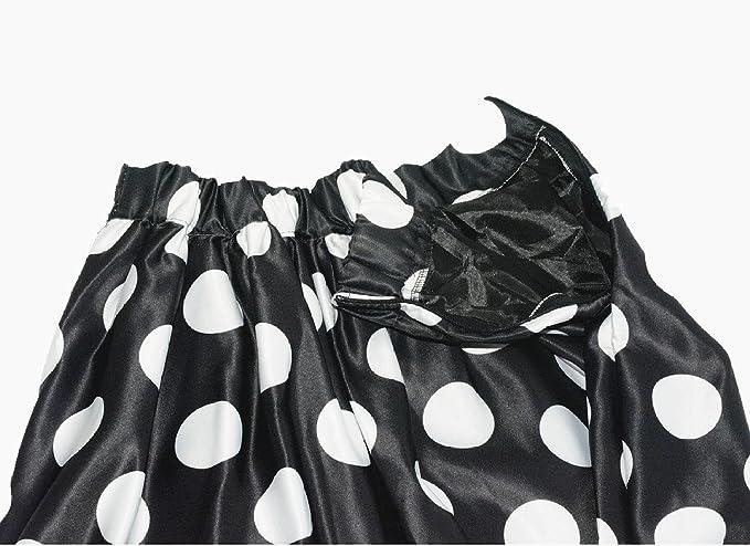Amazon.com: jojobaby Midi Falda de la mujer a-line plisado ...
