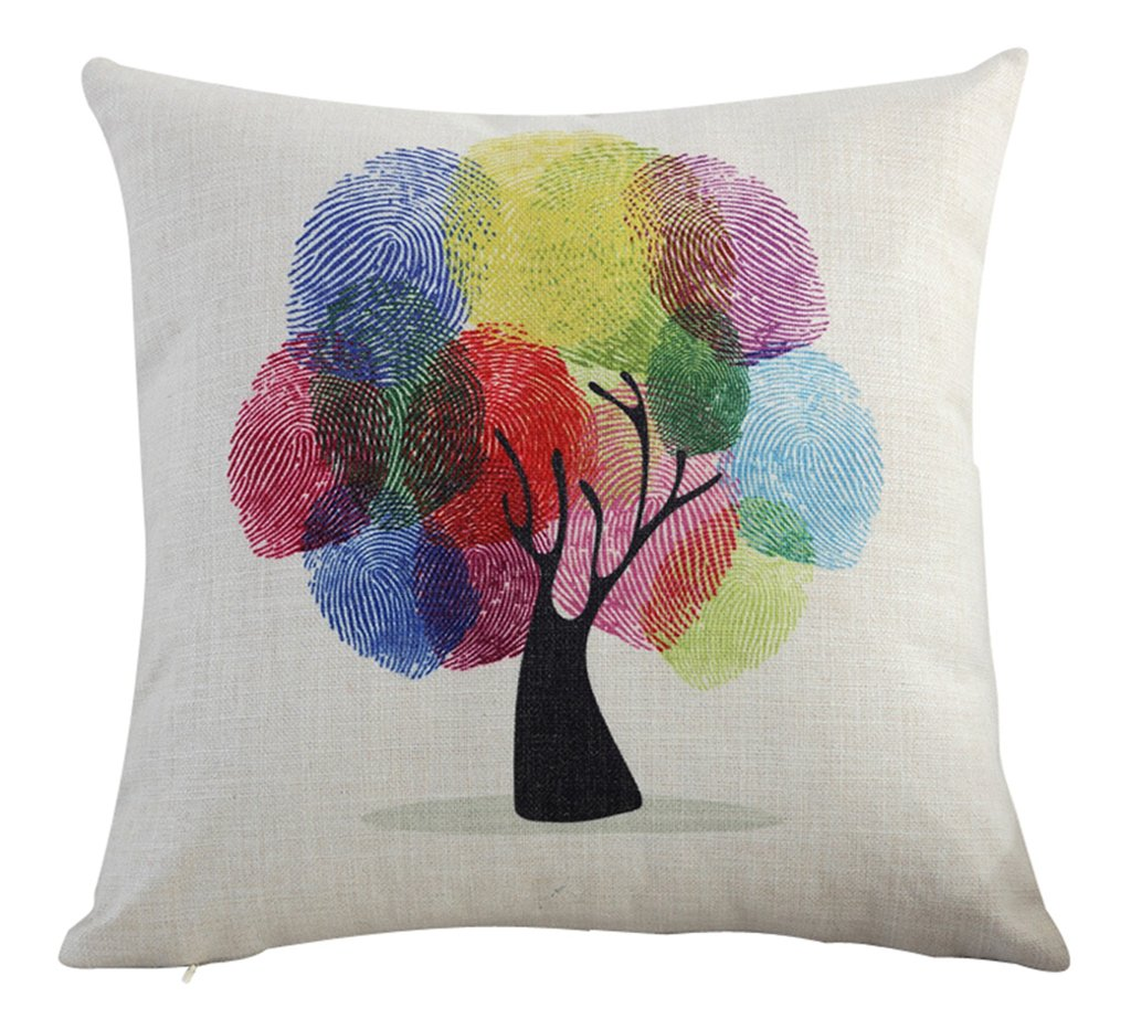 Multi-size Life Tree Stuffed Throw Pillow Seat Chair Back Cushion LivebyCare Bed Sofa Couch Pillows For Hotel Decorative Decor Chair Sofa Couch