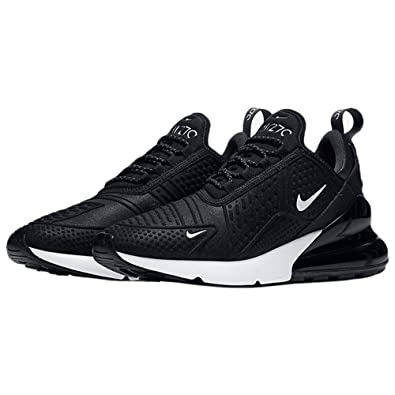 Amazon.com | Nike Women's WMNS Air Max 270 SE, Black/Summit White ...