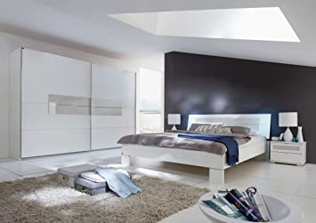 Dreams4home Schlafzimmer Set Adio Set 1x Bett 180 X 200 Cm 2x
