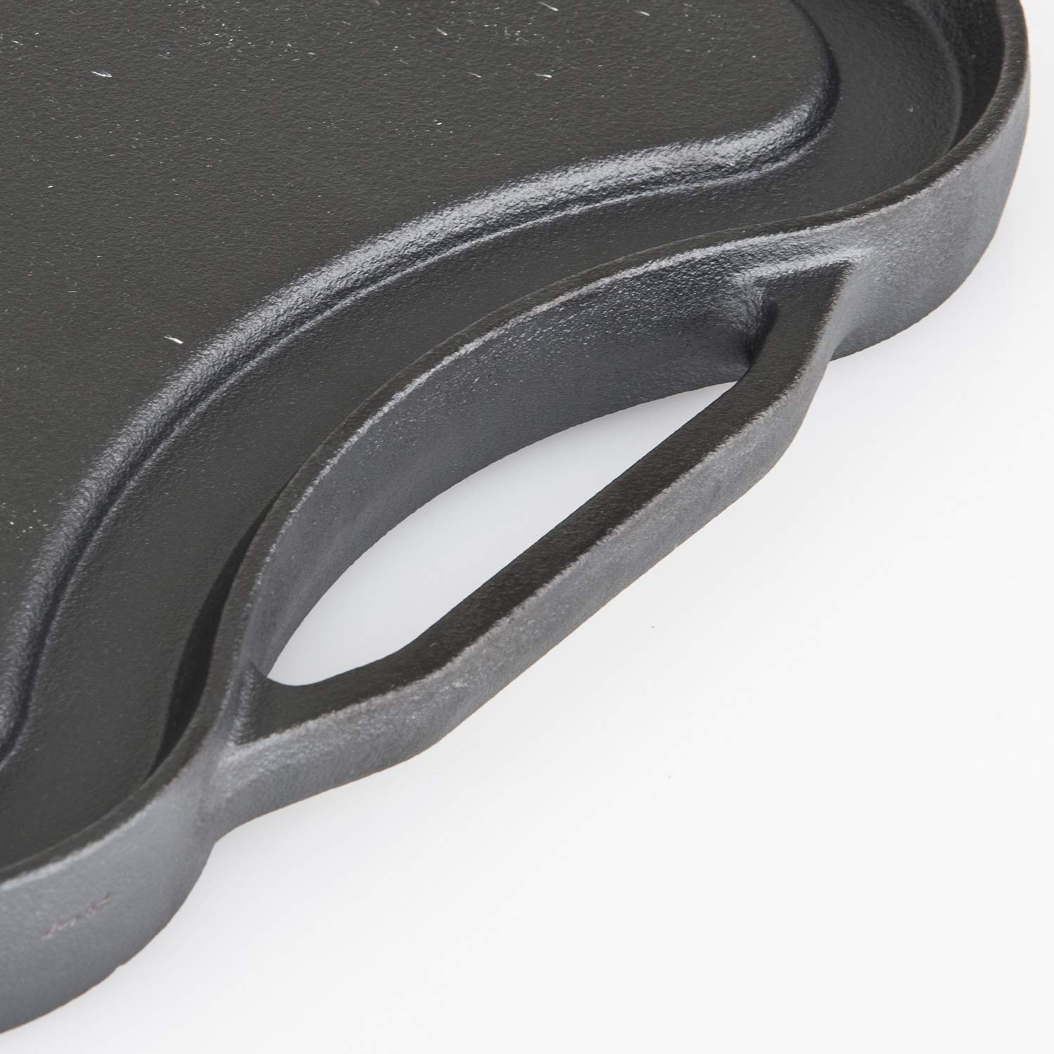 Viking Enamel Cast Iron Reversable Grill and Griddle Pan, 20 Inch by Viking Culinary (Image #3)