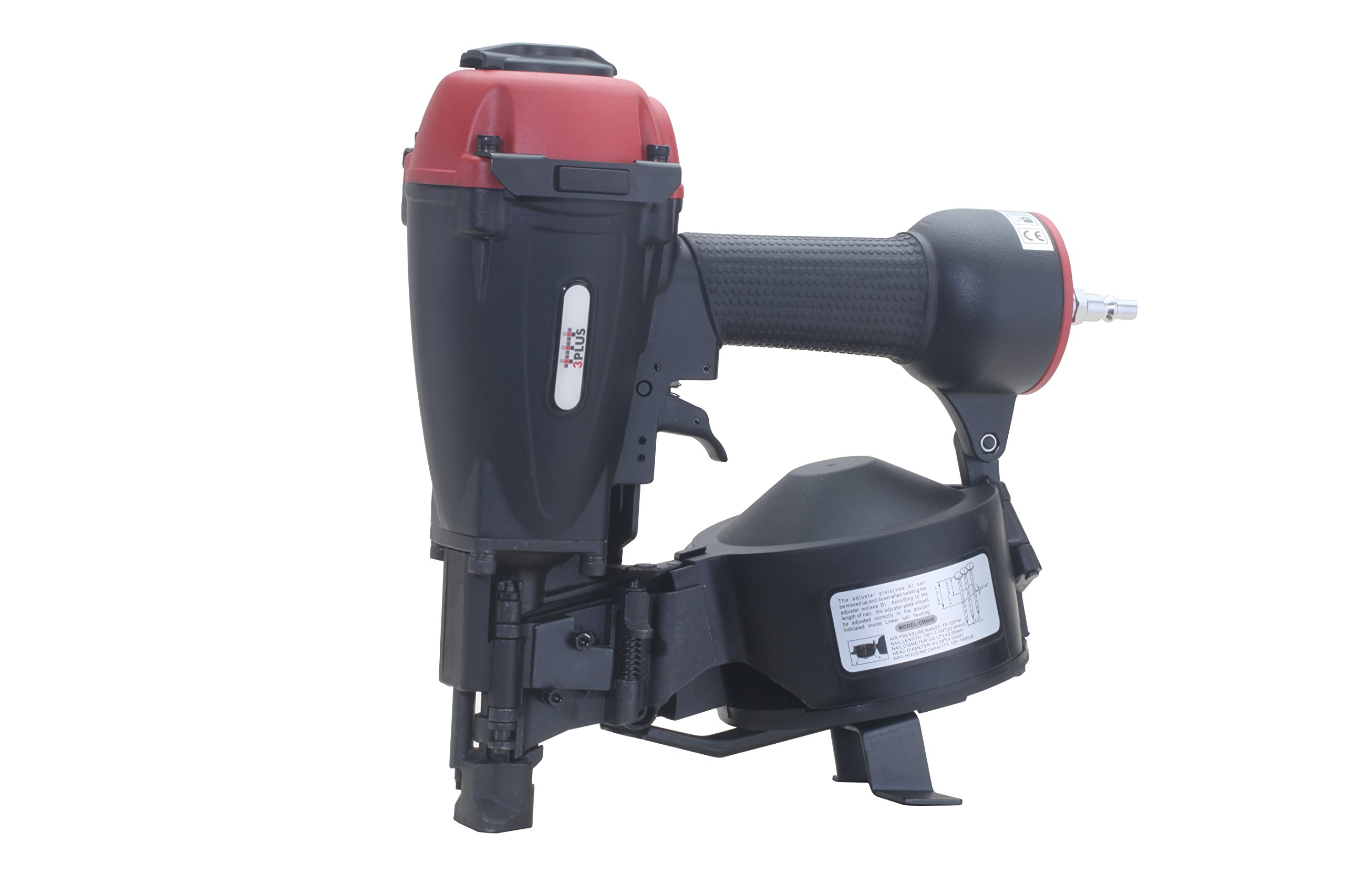 3 Plus Hcn45sp 11 Gauge 15 Degree 3 4 To 1 3 4 Coil Roofing Nailer Ebay