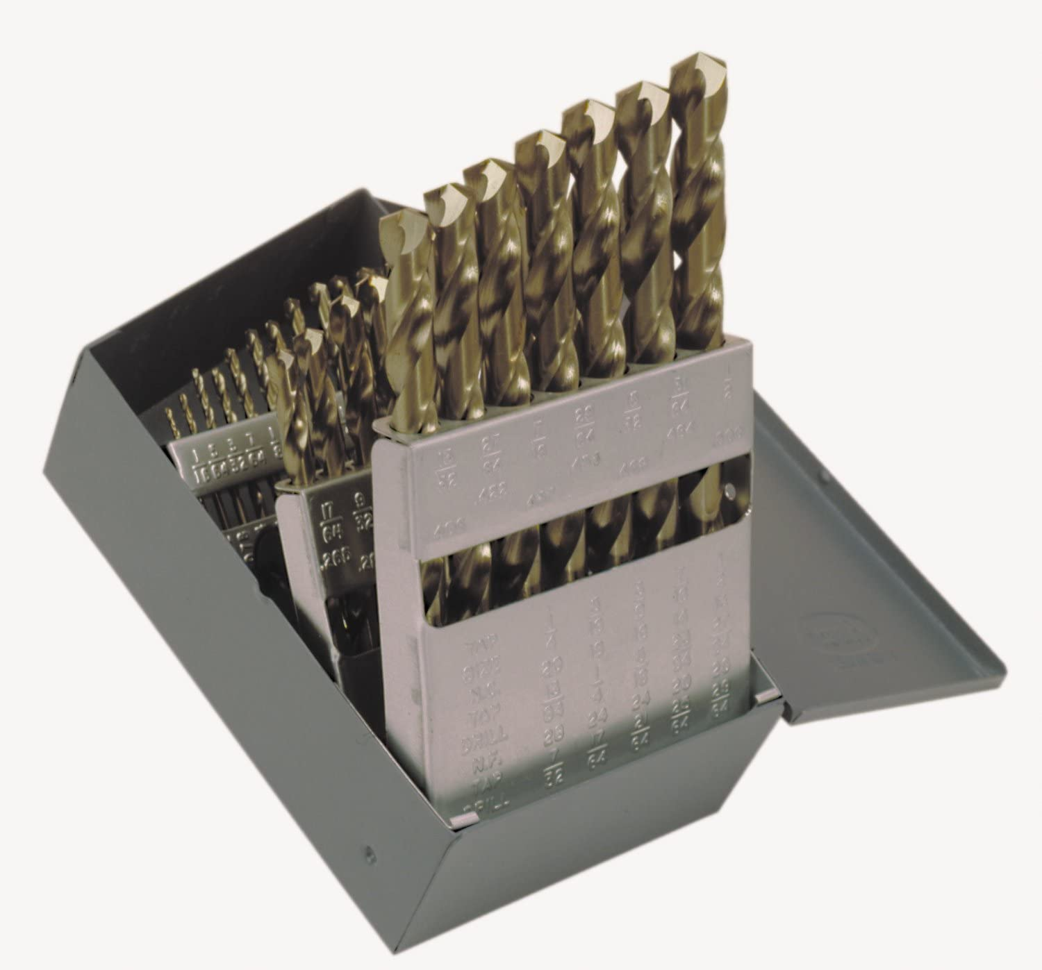 1//4 /& Letter Size E Pack of 1 Bright Cleveland 2727 Style Carbide Tipped Jobbers Drill Bit Uncoated 118 Degree Conventional Point Round Shank