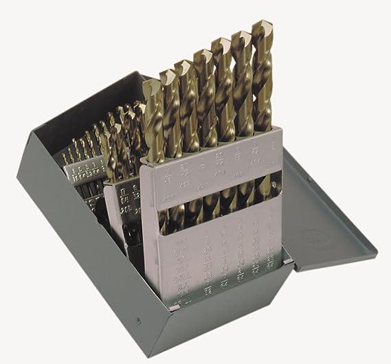 Taper Length Drill Bit HSS Bright Sz #40 Cleveland C09115 Pack of 5