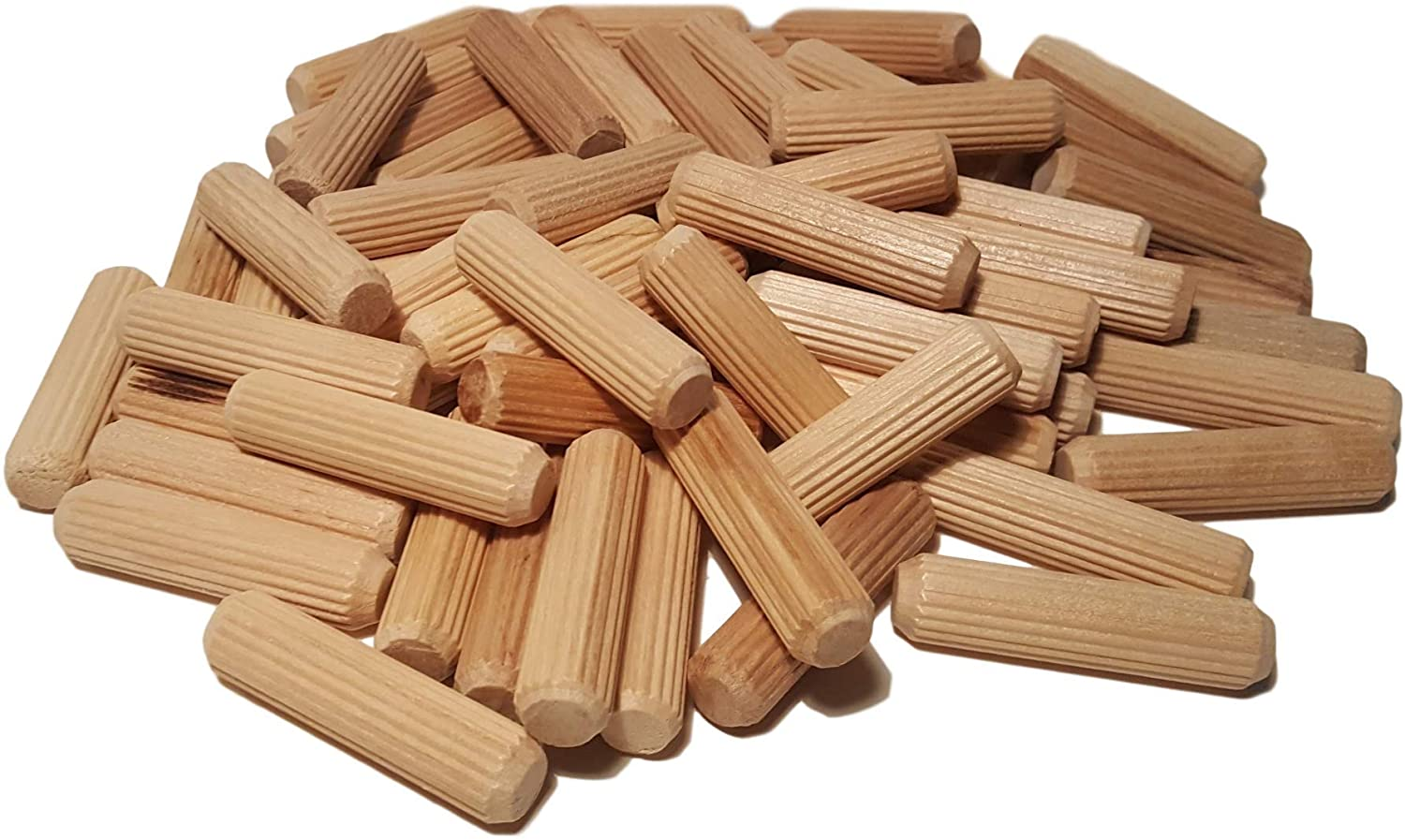 "Wooden Fluted Dowel Pins 4-1//2/"" x 1//2/"" by Woodpeckers"
