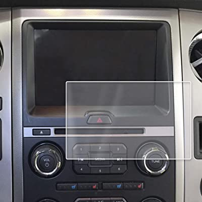 Red Hound Auto Touch Display Protector 2015-2020 Compatible with Ford Expedition MyFord Screen Saver 1pc Custom Fit Invisible High Clarity Minimizes Fingerprinting 8 Inch: Automotive