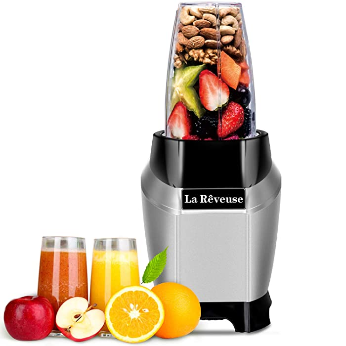 Smoothie and Shakes Personal Blender 600 Watt with 20 oz Tritan BPA-Free Travel Bottle-Dishwasher Safe