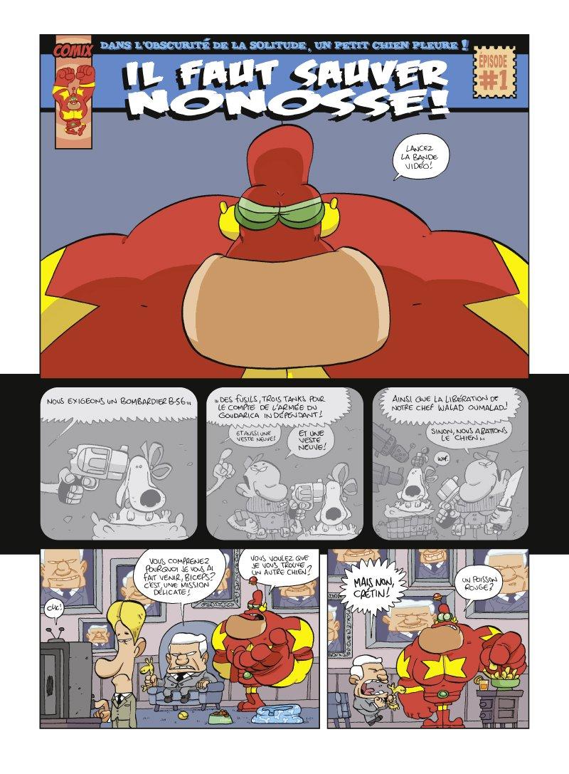 Tome 05 Lintr/épide Captain Biceps