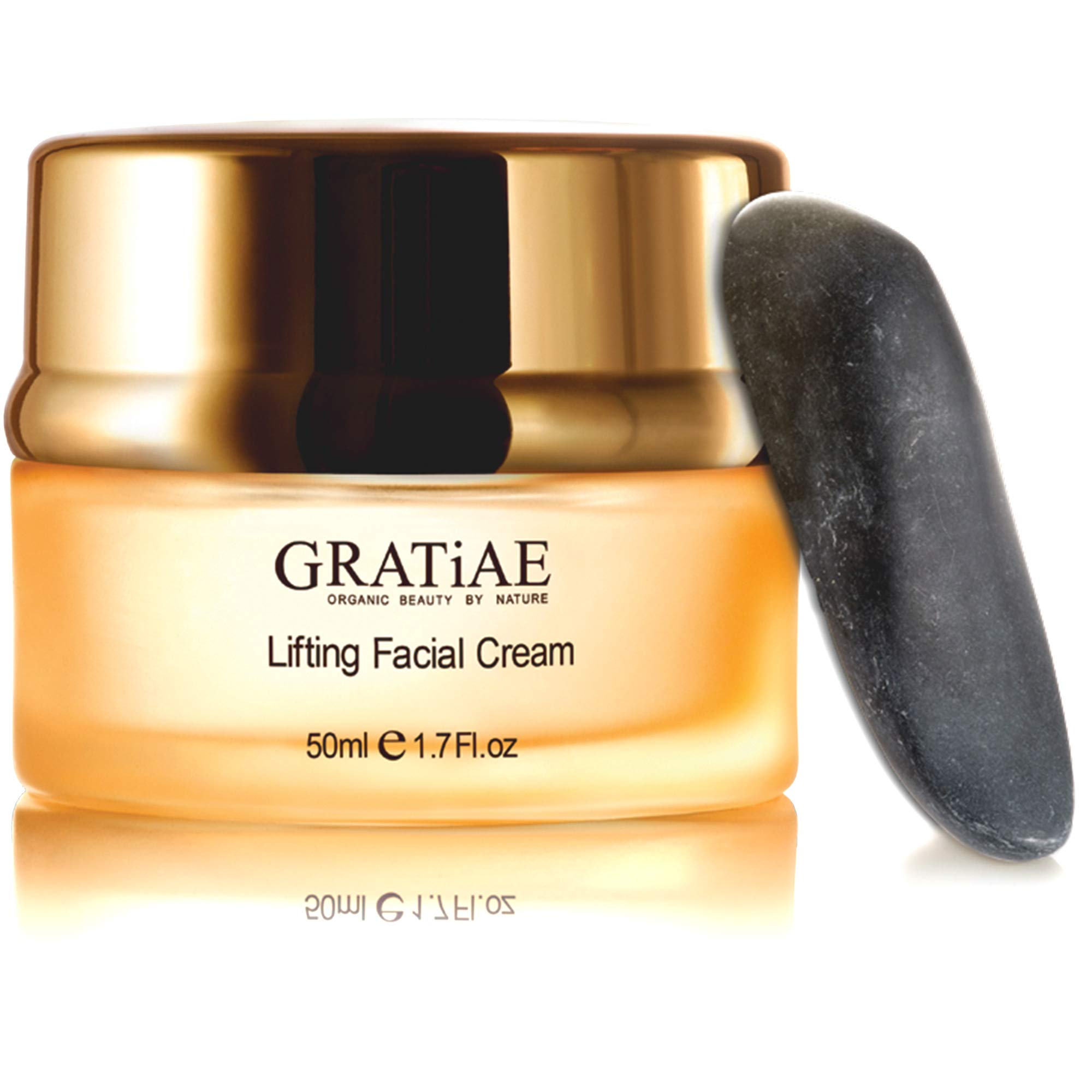 Gratiae Organics Lifting Moisture Cream with Volcanic Stone, 1.7-Ounce
