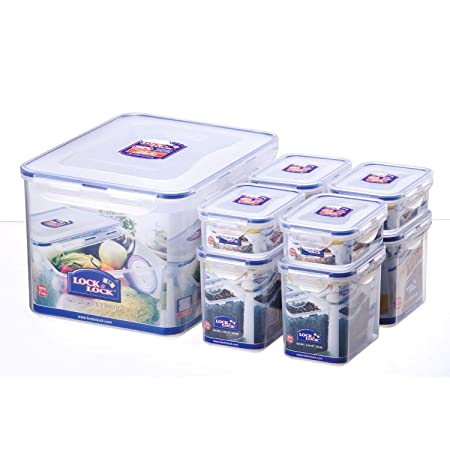 /& Lock Lock-Set di contenitori per alimenti 6//HPL 813s6 1,8 x 6 l