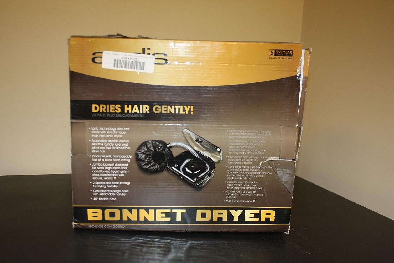 Amazon.com  FOR PARTS - ANDIS BONNET HAIR DRYER (BLACK)  Beauty cd05c0a5c63d