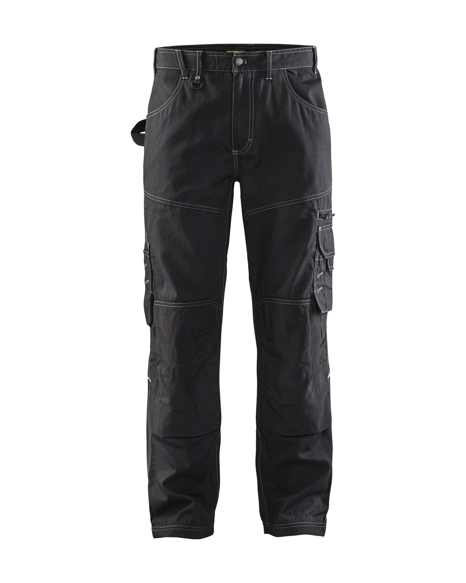 Blaklader Ripstop Pants Black 32 32 by Blaklader (Image #1)