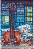 Music Treasures Co. Guitar Poster