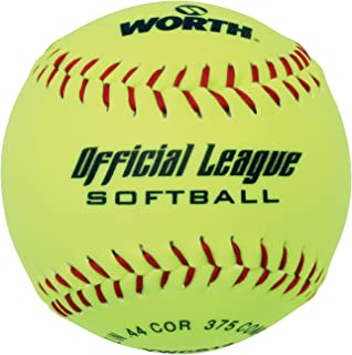 WORTH 30,5 cm Loisir Softball (ywcs12) (1 boule) 5 cm Loisir Softball (ywcs12) (1 boule) W00494748