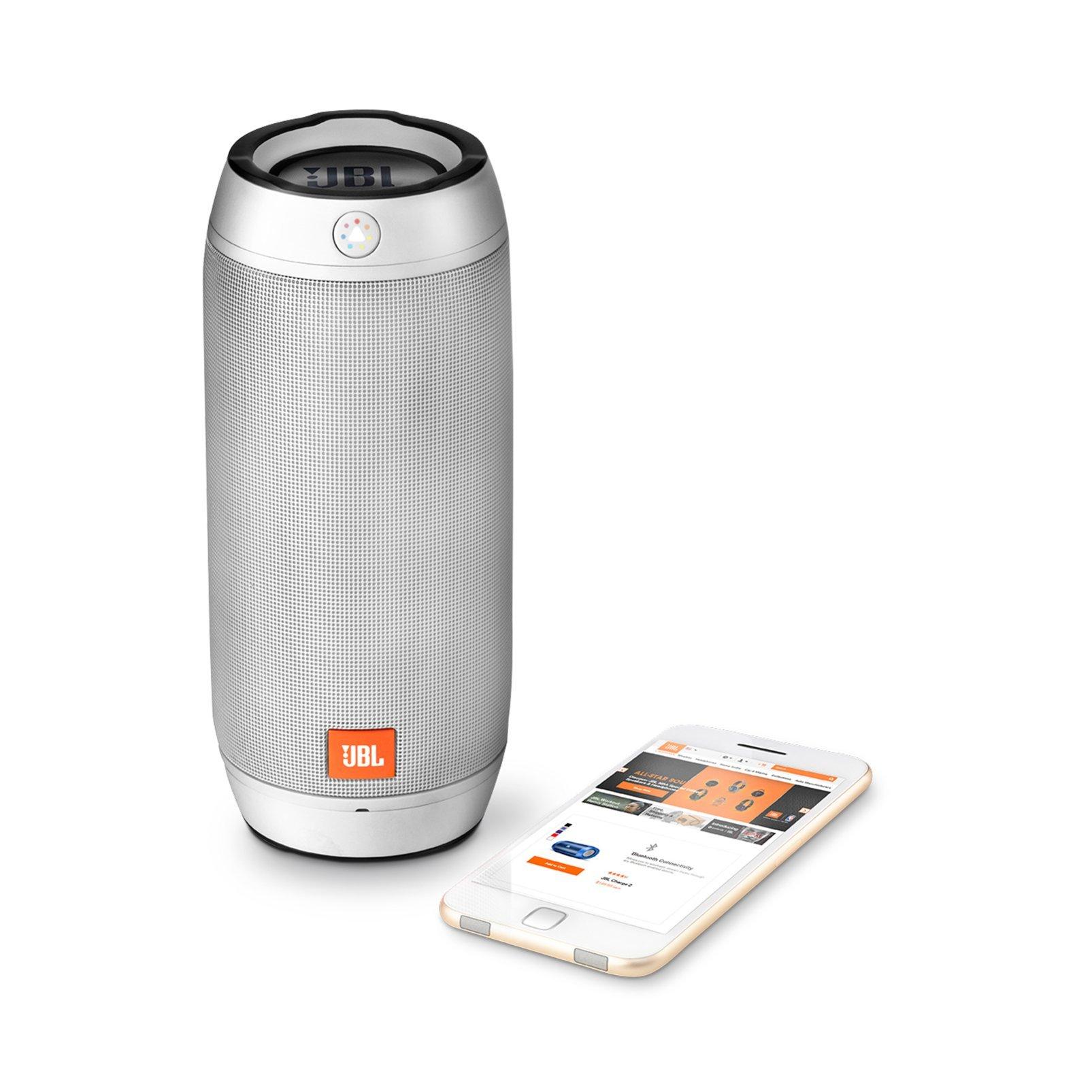 JBL Pulse 2 Portable Splashproof Bluetooth Speaker (Silver) by JBL (Image #3)