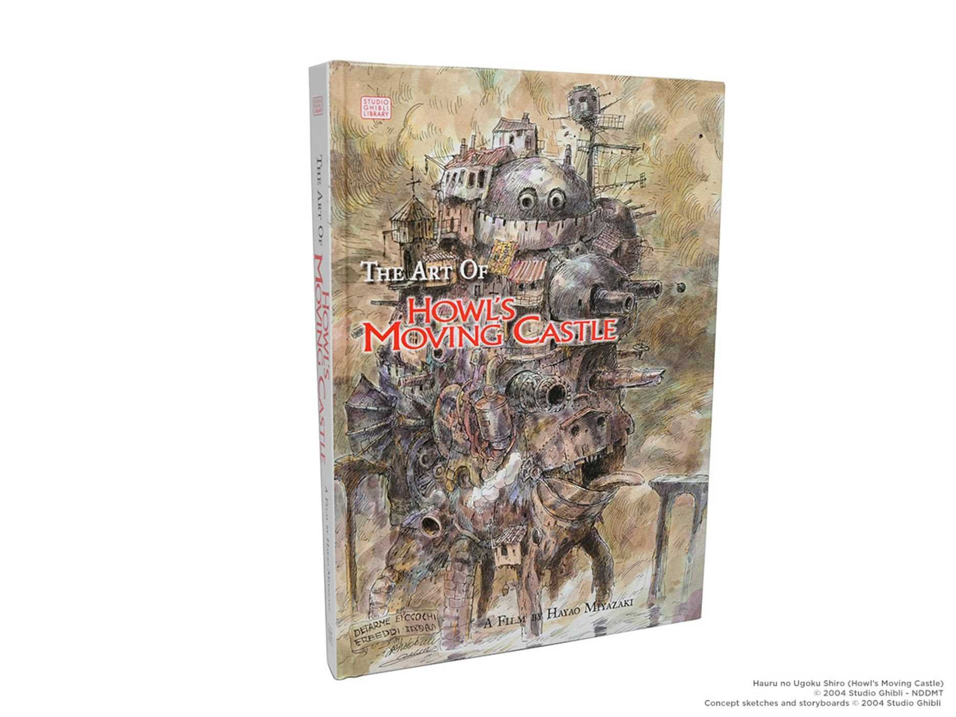 The art of howls moving castle livros na amazon brasil 0782009230434 fandeluxe Choice Image