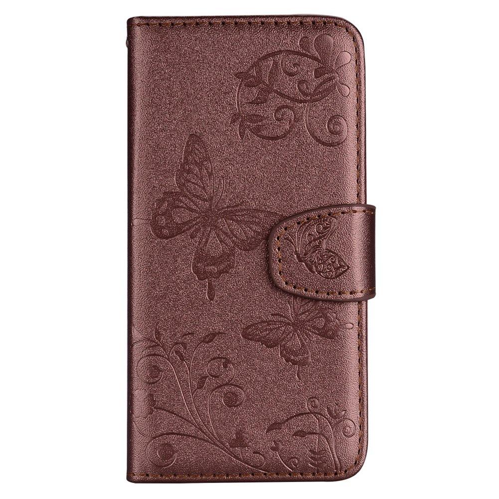 Specchio Custodia per Samsung Note 8, XINYIYI 3D Farfallas Libro ...