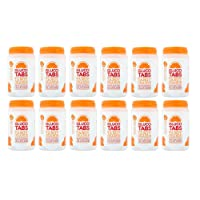 Glucotabs Orange- 50 Glucose 200g - 12 Packs (Total 600 Tablets)