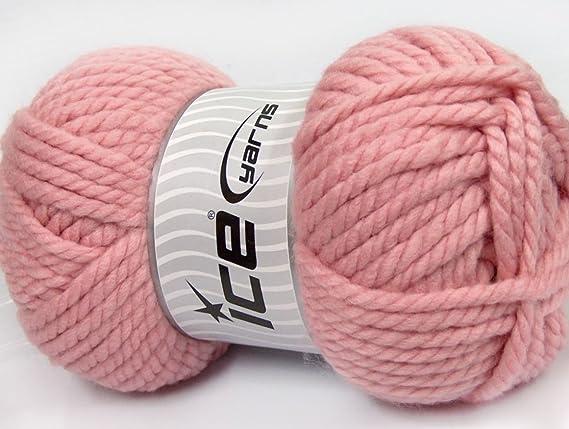 250 gr hielo hilos Alpine XL (45% lana) mano tejer hilo luz ...
