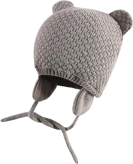 ZZLAY - Gorro para bebé con Forro Polar, Gorro cálido para bebé y ...