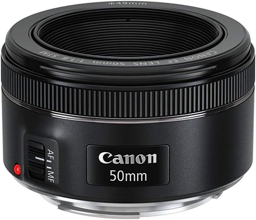 Canon EF 50mm f/1.8 STM Lens (Renewed)