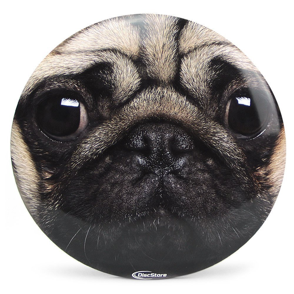 Discraft ESP Buzzz Supercolor Disc Golf Midrange Flying Disc Plus FREE Mini Marker - Pug